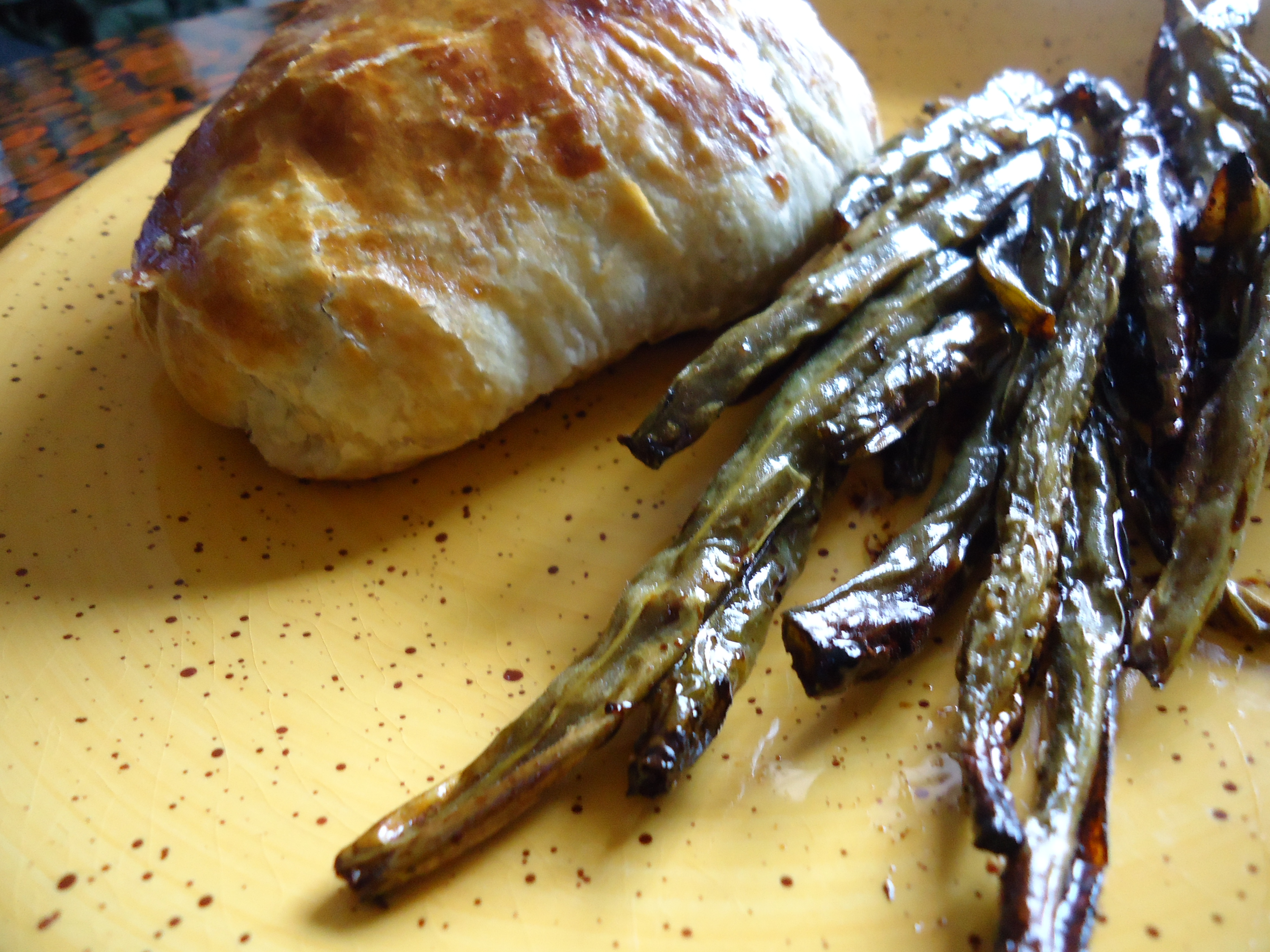 I Forgot To Add The Sauce When I Took The Photos, But I Made A Lemon Caper  Dill Sauce With Greek Yogurt To Spoon Over The Salmon En Croute,